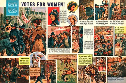 Votes for Women. The story of Emily Pankhurst.