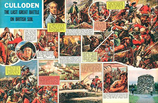 Culloden. The last great battle on British soil.