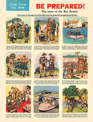 From Then Till Now: Be Prepared! The history of the Boy Scouts.