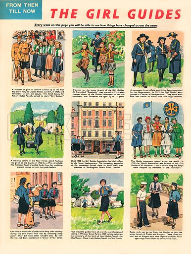 From Then Till Now: The Girl Guides.