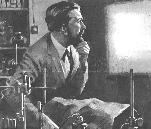 Professor Wilhelm Rontgen, discoverer of X-Rays.