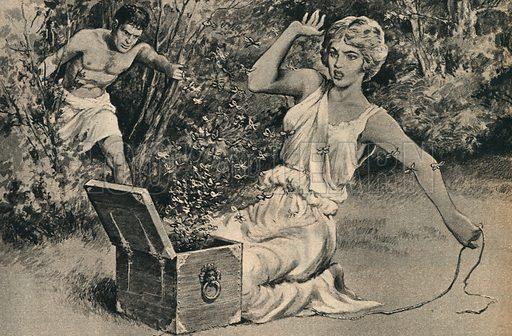 The World's Legends: Pandora's Box of Trouble.
