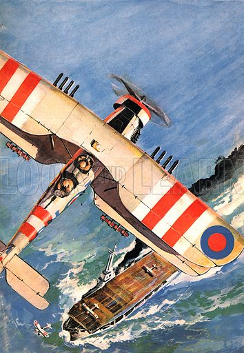 """The Route to the Moon: The Biplane's Golden Years. """"The last of our fighting biplanes"""" -- the Fairey Swordfish."""