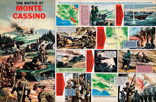 The Battle of Monte Cassino -- for six months during World War II, an Italian monastery was the centre of one of history's biggest battles.