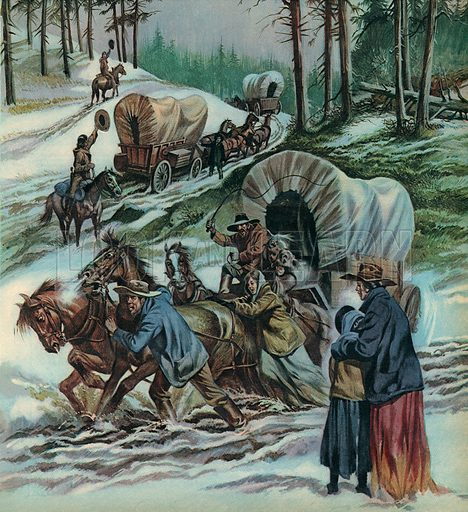 The Fight for the Wild West. When Daniel Boone rode deep into the American continent in search of fresh lands he started a trail that 75,000 settlers followed for a new life -- or a quick and sudden death.