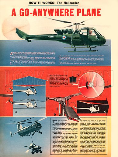 How It Works: The Helicopter. The go-anywhere plane!.