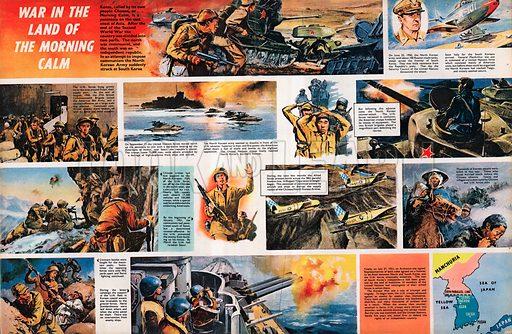 War in the Land of Morning Calm -- the Korean War.
