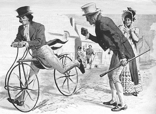 He Put Millions on Two Wheels -- Drais Sauerbronn, a German civil servant, creator of the 'riding machine'... the bicycle.