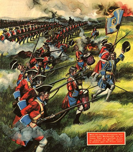 "Into Battle: It's a long, long way to Blenheim. ""250 miles across the roughest country -- but we will march there straight away and when we arrive, we'll fight,"" declared the Duke of Marlborough."