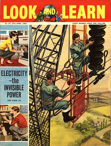 Electricity -- the Invisible Power.