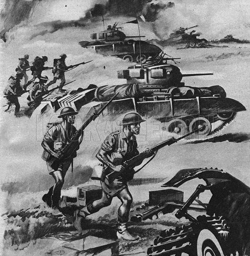 Into Battle: Montgomery's Desert Victory.