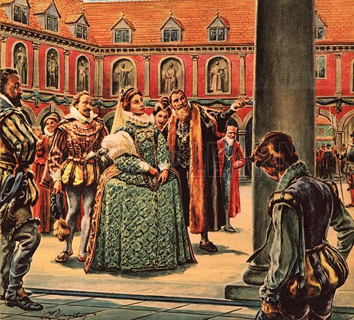 The Story of Our Capital: The Case of the Kidnapped Schoolboy. Queen Elizabeth I visits the Royal Exchange.