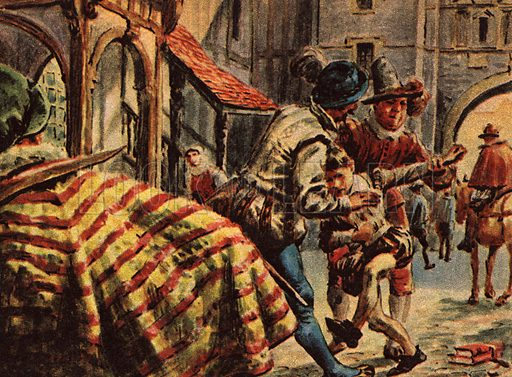 The Story of Our Capital: The Case of the Kidnapped Schoolboy. Tom Clifton is kidnapped by James Robinson on his way to visit Newgate and forced to become a child actor at Blackfriars Theatre!.