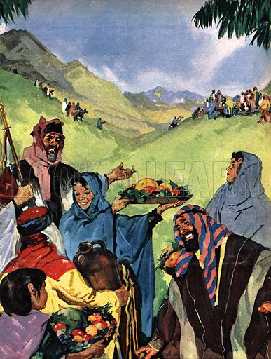 The Books of the Bible: Festival of the Harvest, from Deuteronomy.