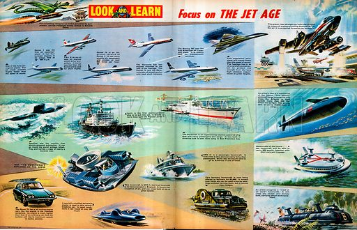Focus on the Jet Age.