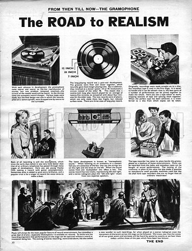 From Then Till Now: The Gramaphone -- the Road to Realism.