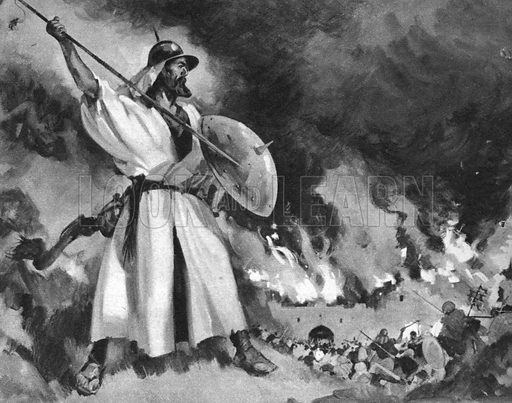 Stories From The Bible The Hidden Army Attacks Look And Learn