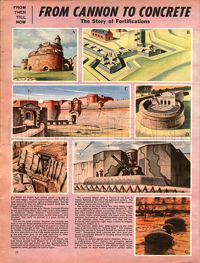 From Then Till Now: The Story of Fortifications -- From cannon to concrete.