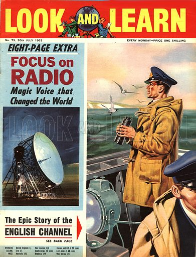 Focus on Radio -- the Magic Voice that Changed the World, plus, The Epic Story of the English Channel.