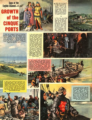 Saga of the English Channel: Growth of the Cinque Ports.