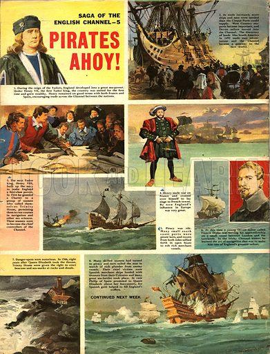 Saga of the English Channel: Pirates Ahoy!.