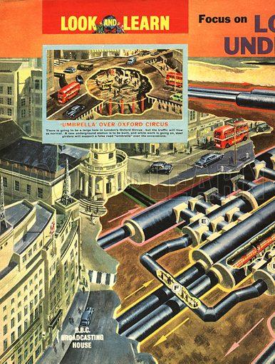 Focus on London's Underground.