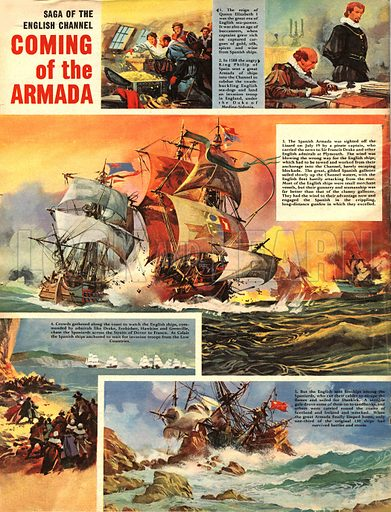 Saga of the English Channel: Coming of the Armada.