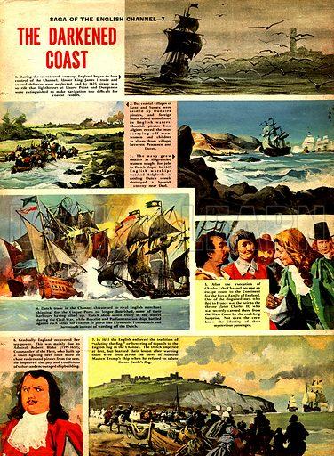 Saga of the English Channel: The Darkened Coast.