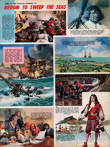 Saga of the English Channel: Broom to Sweep the Seas.