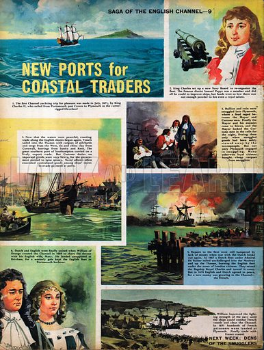 Saga of the English Channel: New Ports for Coastal Traders.