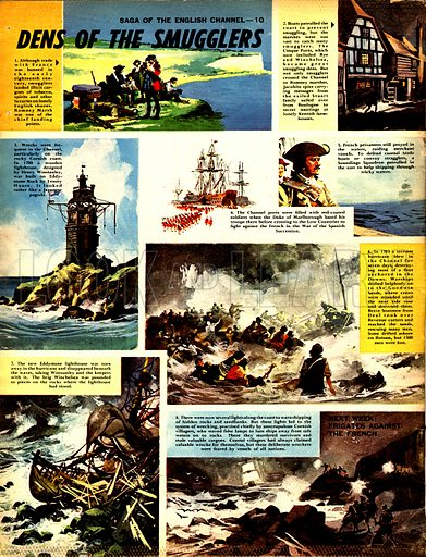 Saga of the English Channel: Dens of the Smugglers.