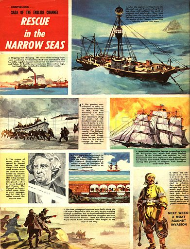 Saga of the English Channel: Rescue in the Narrow Seas.