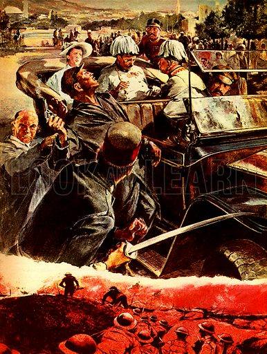 Disasters That Shocked the World: Assassination -- how two bullets killed ten million men.
