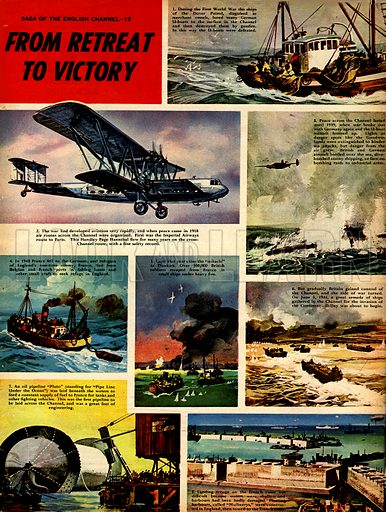Saga of the English Channel: From Retreat to Victory.
