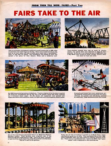 From Then Till Now: Fairs Take to the Air.