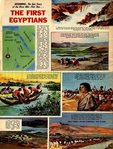 Epic Story of the River Nile: The First Egyptians.