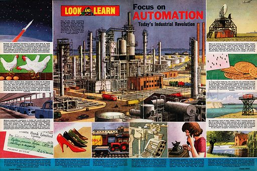 Focus on Automation -- Today's Industrial Revolution.