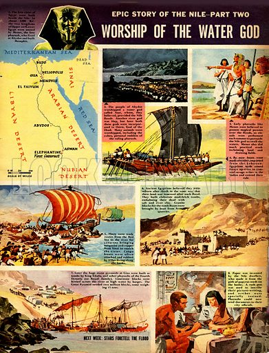 Epic Story of the Nile: Worship of the Water God.