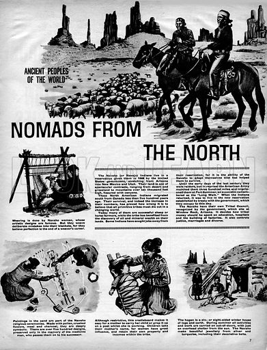 Ancient Peoples of the World: Nomads from the North.