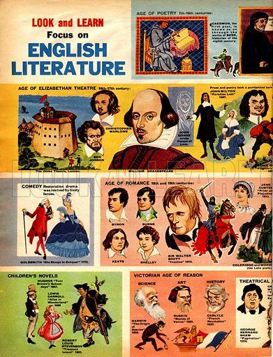 Focus on English Literature.
