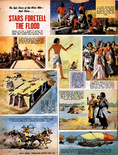 Epic Story of the Nile: Stars Foretell the Flood.