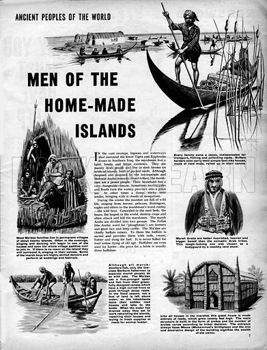 Ancient Peoples of the World: Men of the Home-Made Islands.