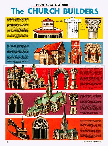 From Then Till Now: The Church Builders.