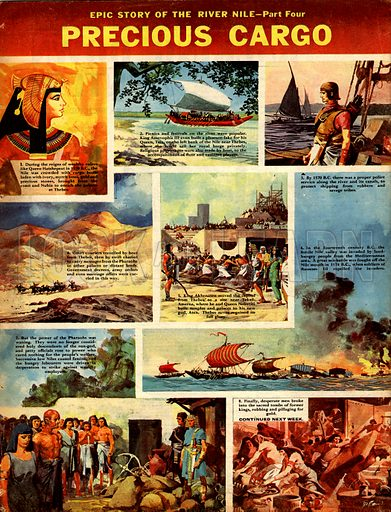 Epic Story of the River Nile: Precious Cargo.
