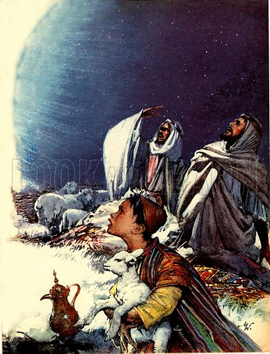 The Christmas Story: The Shepherd's Tale.