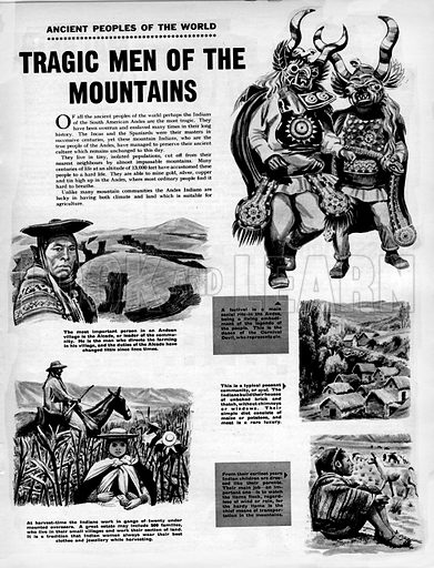 Ancient Peoples of the World: Tragic Men of the Mountains.
