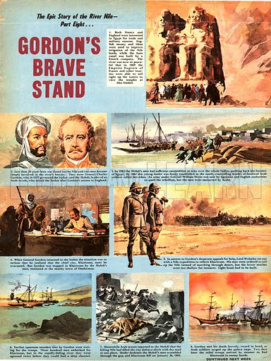Epic Story of the River Nile; Gordon's Brave Stand.