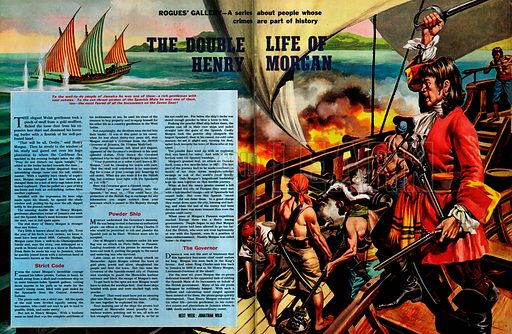 Rogues' Gallery: The Double Life of Henry Morgan -- a gentleman landowner to the people of Jamaica... and one of the most feared of all buccaneers of the Spanish Main.