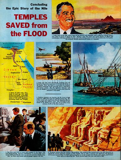 Epic Story of the Nile: Temples Saved from the Flood.