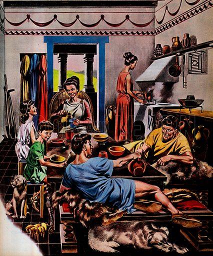 A Family's Day in Roman Britain.